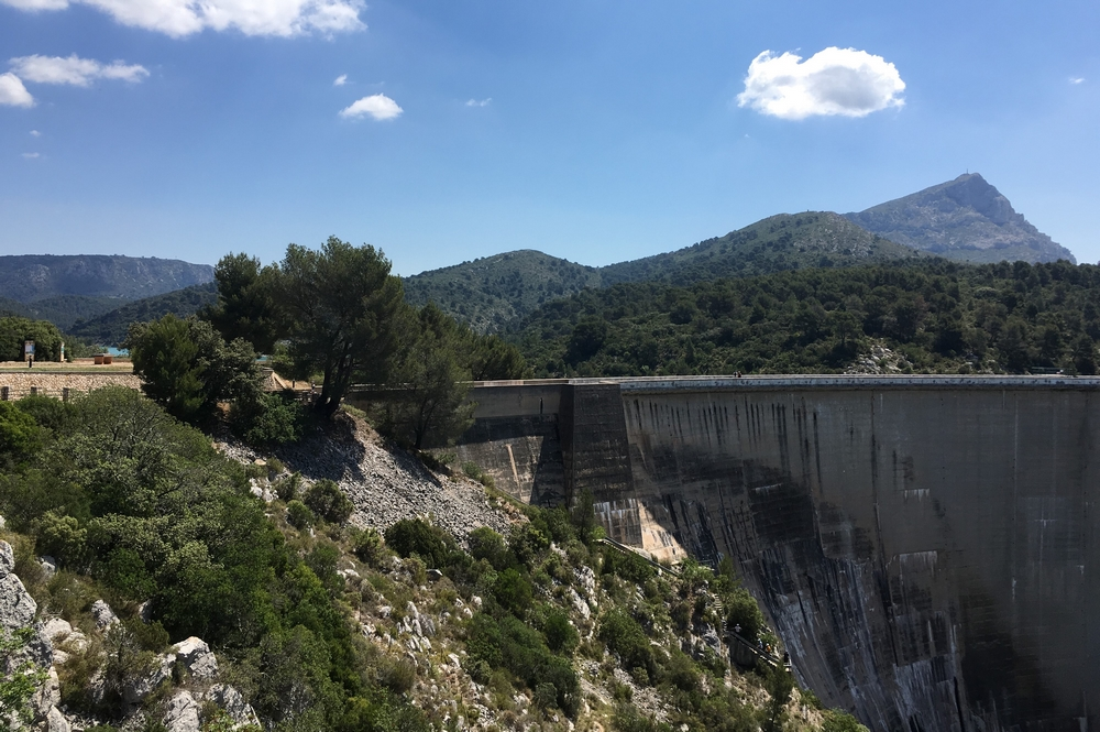 Barrage de Bimont - Grand Site Sainte Victoire - Provence