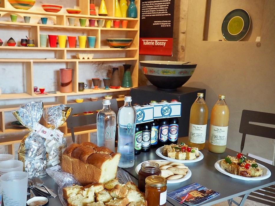 Goûter dégustation produits locaux - En Vadrouille à la Tuilerie Bossy