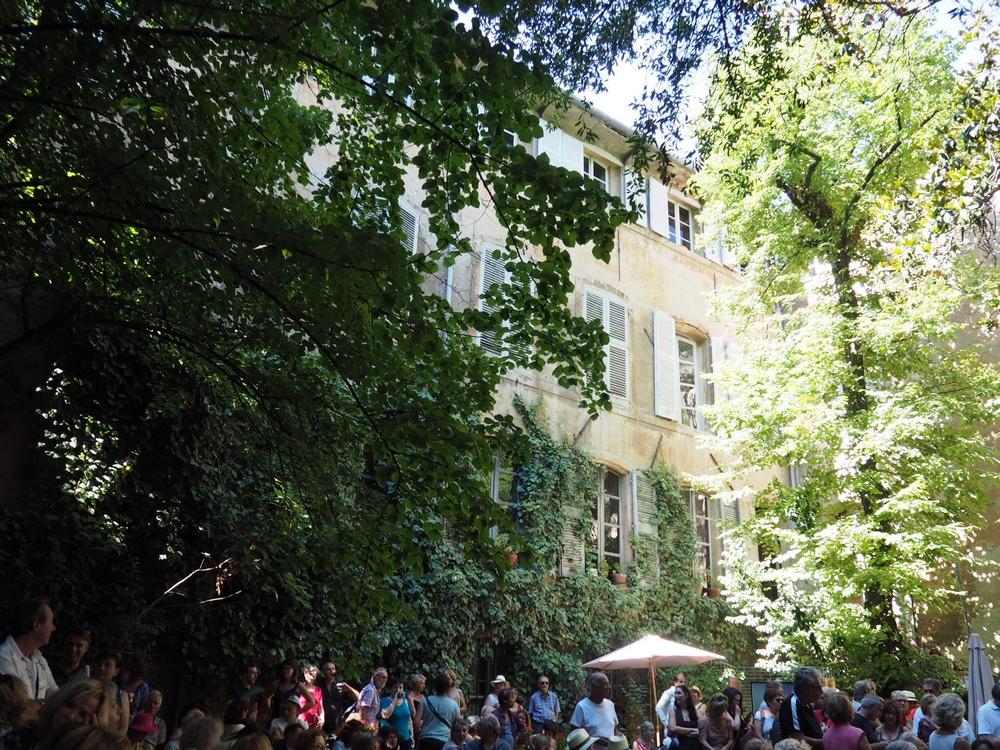 Flâneries d'Art Contemporaine dans les jardins d'Aix en Provence
