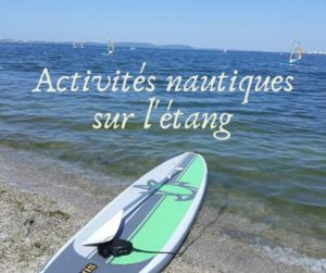 Escales Patrimoine Marignane ete 2019 Activités nautiques