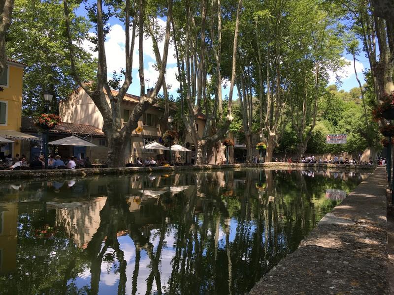 Cucuron - Le Bassin de l'étang