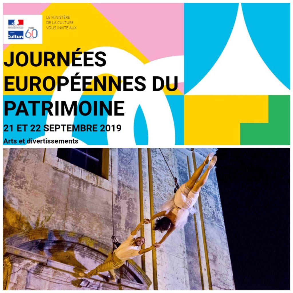 Patrimoine, Arts et Divertissements // Les Journées Européennes du Patrimoine 2019 en Provence