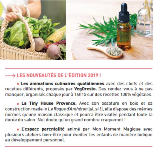 Artemisia les nouveautés édition 2019