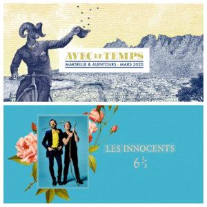Festival Avec le temps Marseille et alentours 2020 - concert Les Innocents Espace Nova Vealux