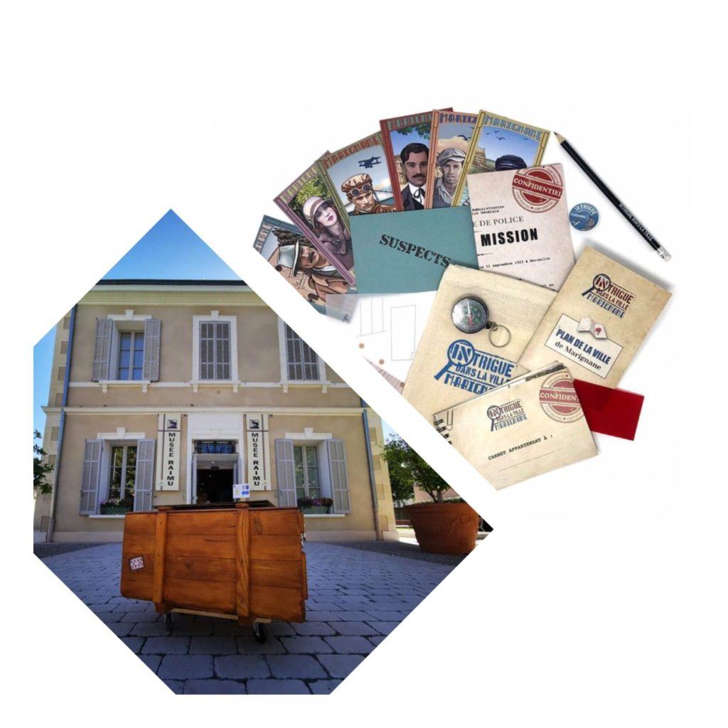 Escape Game au musée et «Intrigue dans la ville®» à Marignane / Jeu-Concours