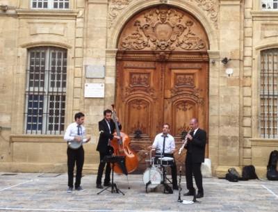 Musique dans la rue…