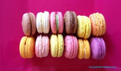 Mmmmmm ! mais qu'est ce qu'ils sont bons les macarons de Caroline !!!