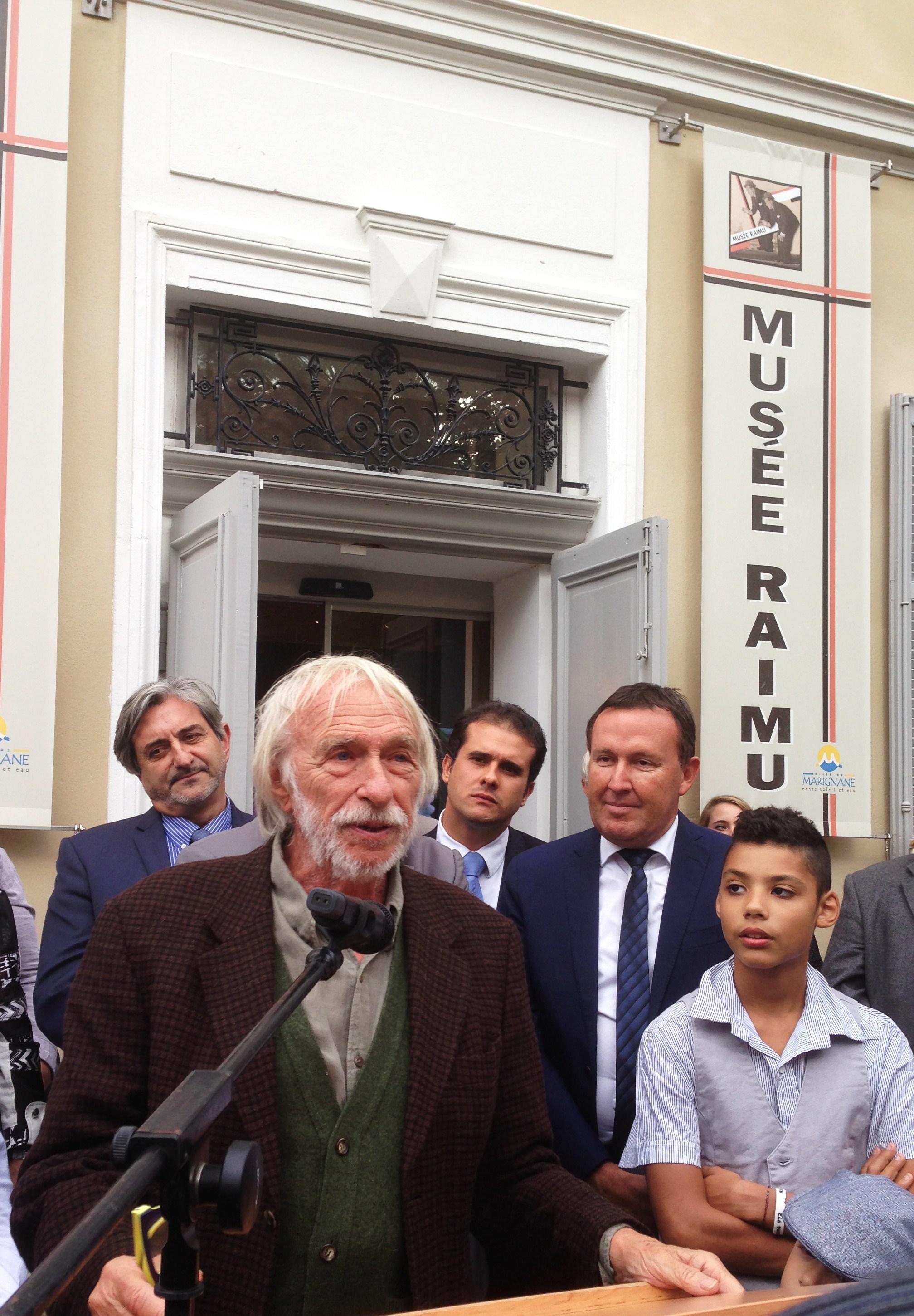 Pierre Richard parrain du musée Raimu