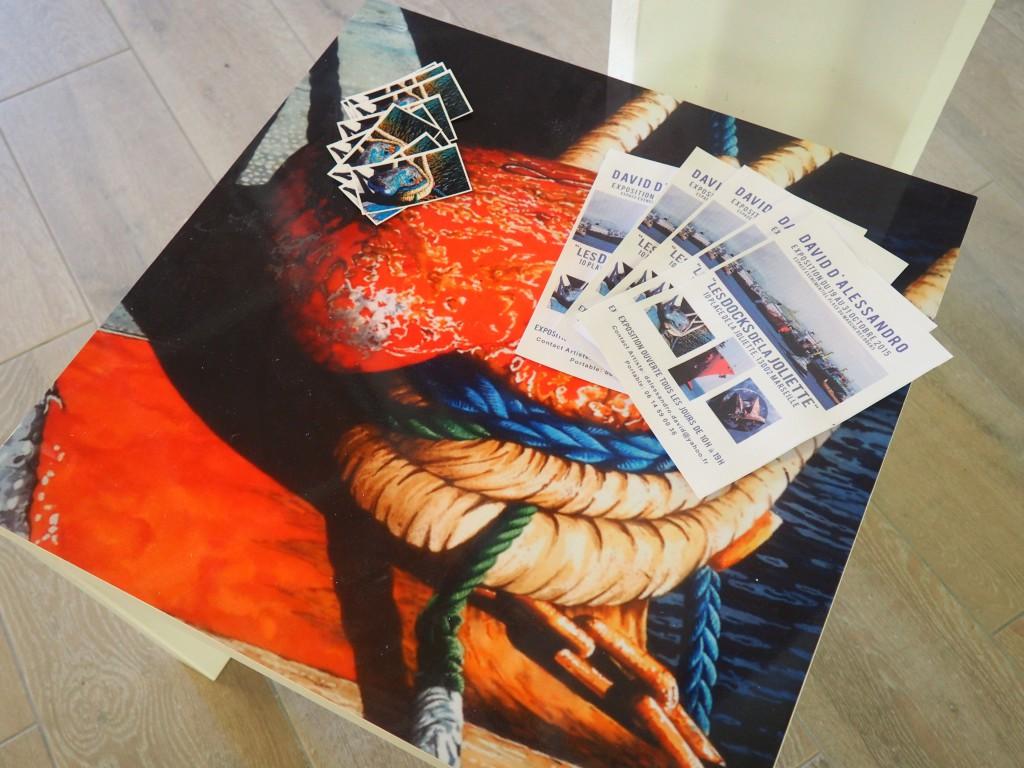 Récréation artistique aux nouveaux Docks Marseille avec l'artiste peintre David d'Alessandro