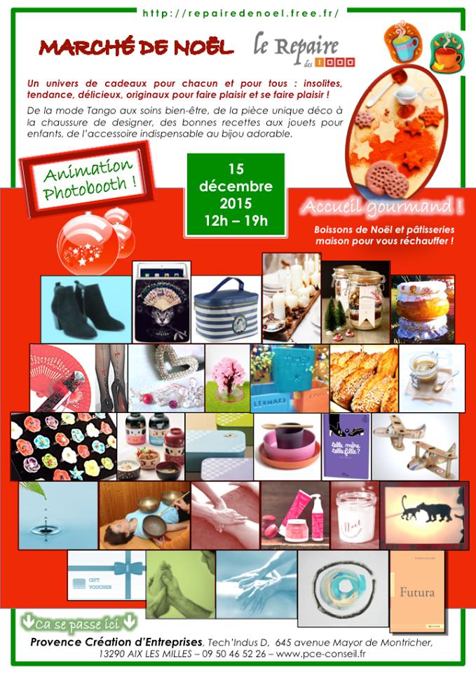 Le repaire de Noël - Le Repaire des 1000 - marché de noel des créateurs - Provence - cadeaux