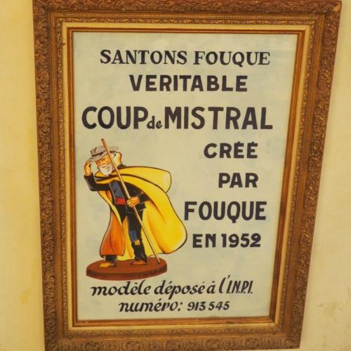 Le Coup de Mistral ©Santons Fouque
