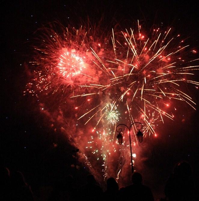 Feux d'artifice pour la nouvelle année  !