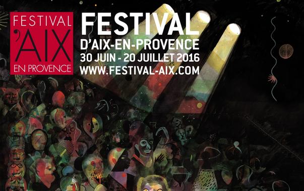Festival d'Aix-en-Provence 2016 - Affiche Brecht Evens