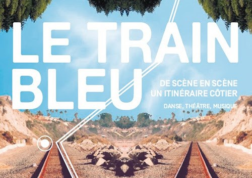Le train bleu de la Côtre bleue