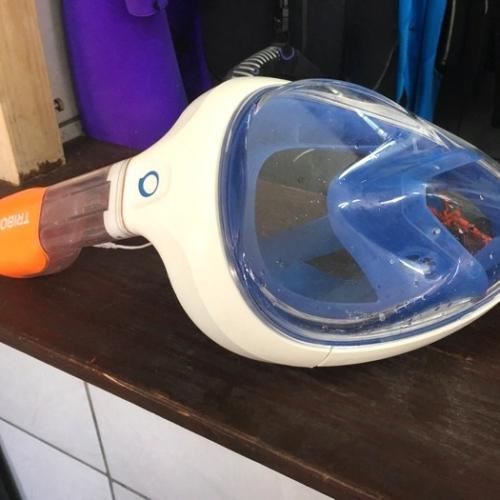 masque integral snorkeling