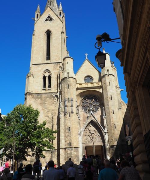 Grande fête du calisson d'Aix en Provence - Eglise Saint Jean de Malte