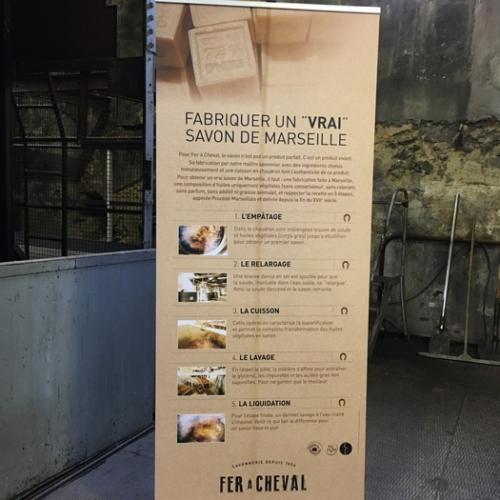 Un vrai savon de Marseille - Savonerie Fer à Cheval