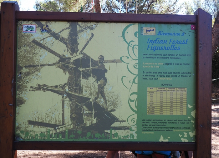 Indian Forest - Parc de Figuerolles - Martigues