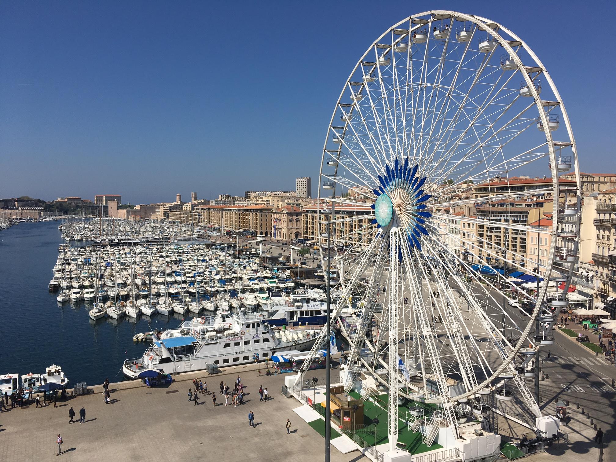 Concours photo ma cigale est fantastique - Vieux port Marseille