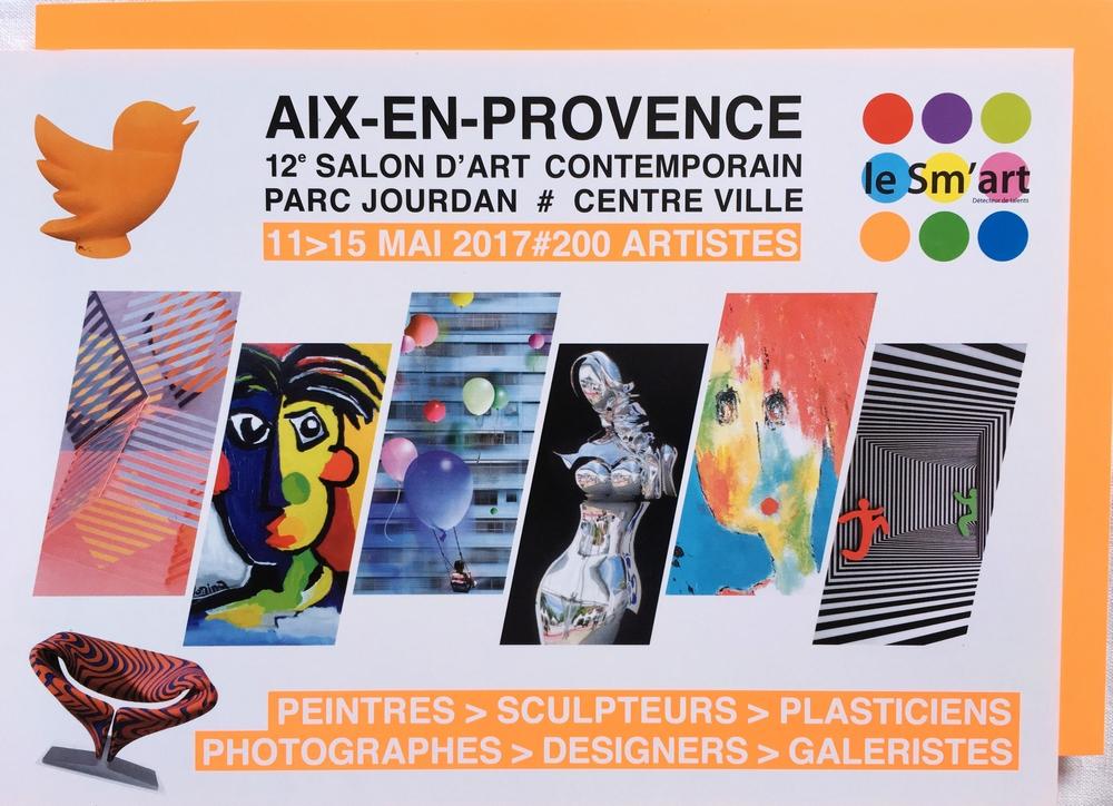 Le Sm'art Aix, le rendez-vous de l'art contemporain  – [concours  – Gagnez vos Invitations]