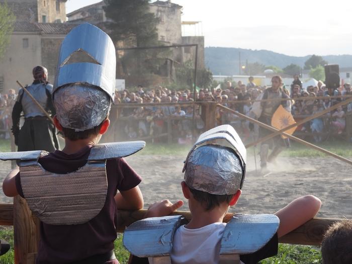 Foire du Roy René - fête médievale - Peyrolles en Provence