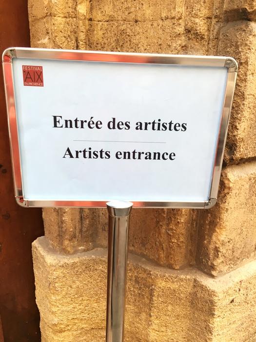En Vadrouille dans les coulisses du Festival d'Aix en Provence 2017