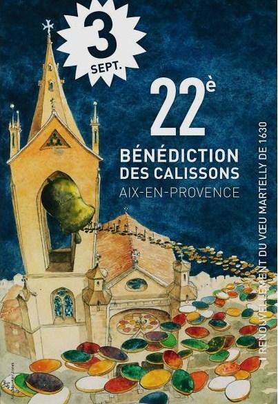 La traditionnelle fête du calisson d'Aix en Provence !