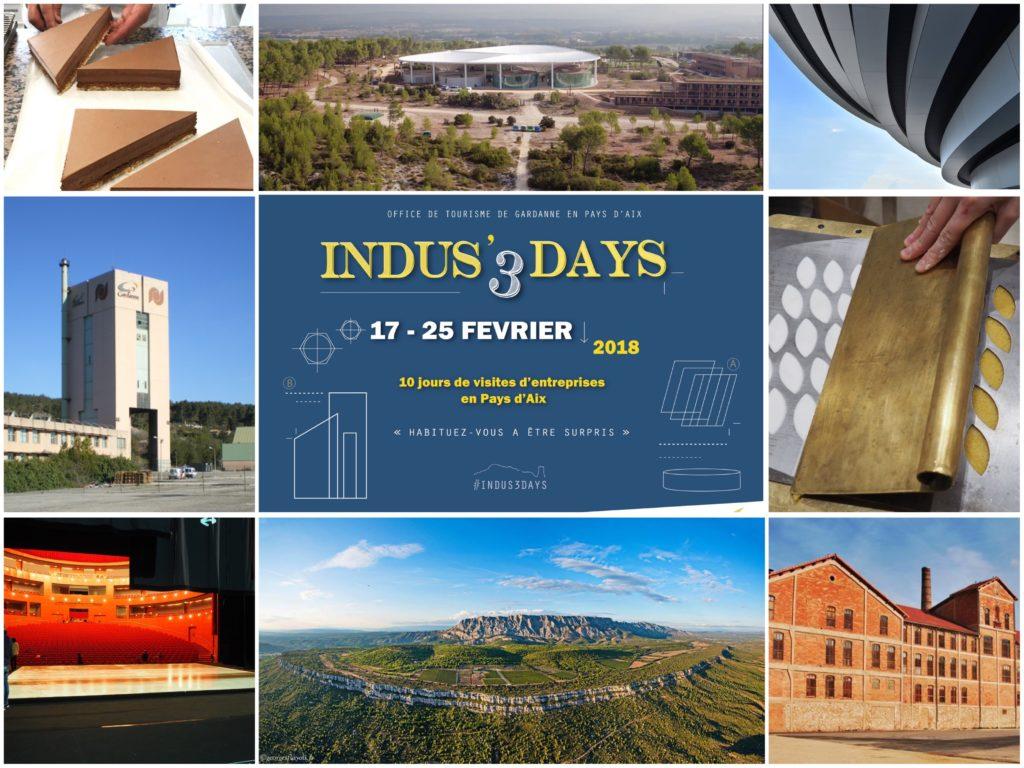 Insdus'3days des visites fantastiques et insolites en Pays d'Aix