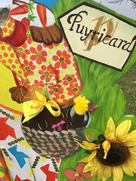 Ma p'tite Cigalette à la chasse aux oeufs de Pâques de la Chocolaterie de Puyricard